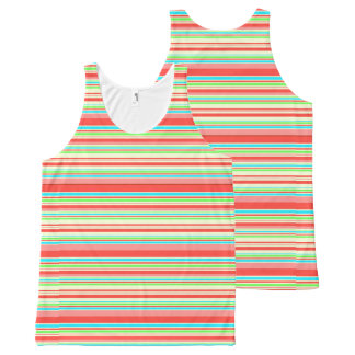 Vector seamless pattern All-Over print tank top