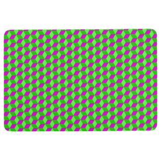 Vector seamless pattern floor mat