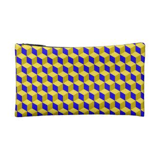 Vector seamless pattern makeup bag