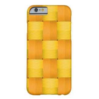 Vector  Seamless wicker pattern Barely There iPhone 6 Case