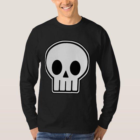 Vector Skull Halloween T-Shirt