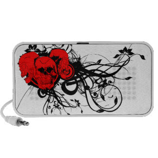 Vector Skulls iPod Speaker