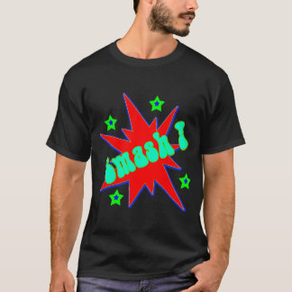 Vector SMASH! Comic Book T-Shirt