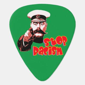 Vector - Stop Racism Plectrum