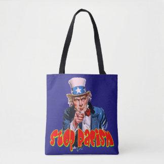 Vector - Stop Racism Tote Bag
