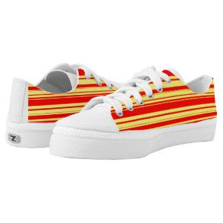 Vector Stripes  design Zipz Printed Shoes