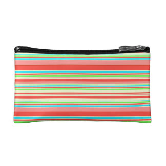 Vector Stripes seamless pattern Cosmetic Bag