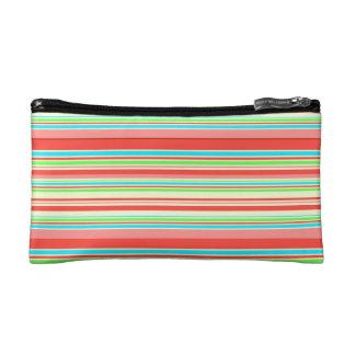 Vector Stripes seamless pattern Makeup Bag