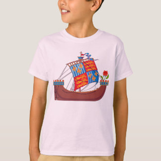 Vector Tudor Ship T-Shirt