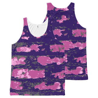 Vector Wall All-Over Print Tank Top