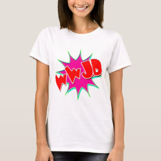 Vector What would Jesus do (WWJD) T-Shirt
