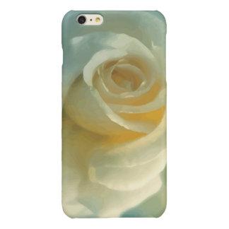 Vector White Rose iPhone 6 Plus Case