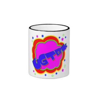 Vector You've got to be kidding (YGTBK) Ringer Mug