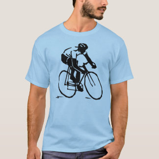 Vectorized Bike Rider Cycling T-shirt
