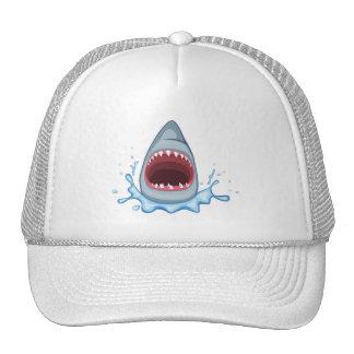 vectorstock_383155 Cartoon Shark Teeth hungry Cap