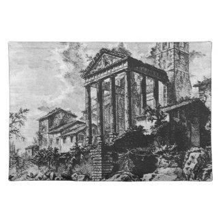 Vedute di Roma by Giovanni Battista Piranesi Place Mat