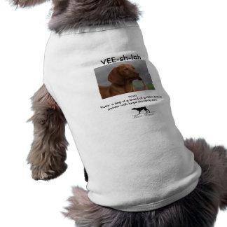Vee-sh-la Sleeveless Dog Shirt