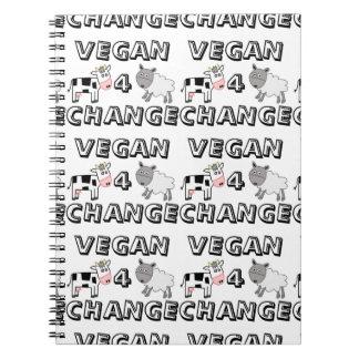 Vegan 4 Change Cow Sheep Notebook