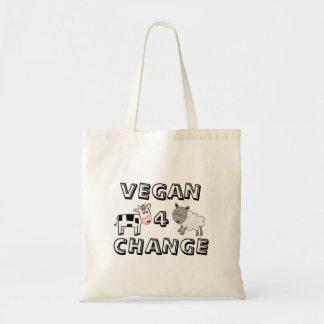 Vegan 4 Change Cow Sheep Tote Bag