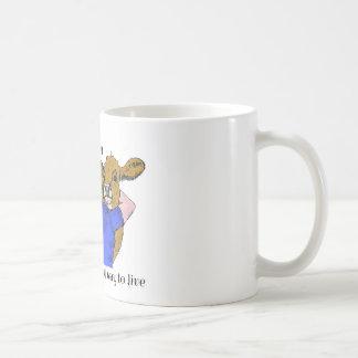Vegan A beautiful way to live Coffee Mug