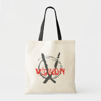 Vegan Anarchist Tote Bag