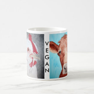 Vegan Animal Mug