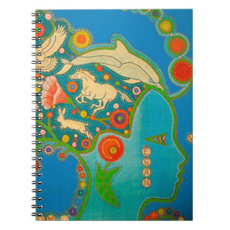 Vegan animals freedom spiral notebooks