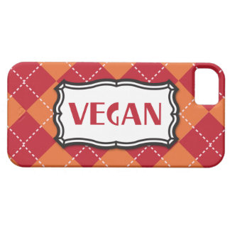 Vegan Argyle Pattern Barely There iPhone 5 Case