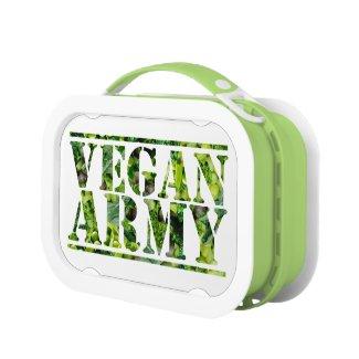 VEGAN ARMY LUNCH BOX