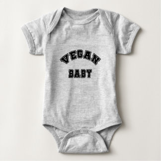 Vegan Baby - college style Baby Bodysuit