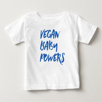"""""""Vegan Baby Powers"""" baby shirt"""