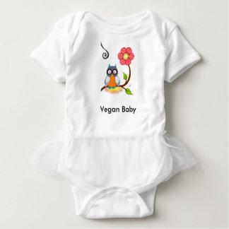 """""""Vegan Baby"""" Tutu Bodysuit"""