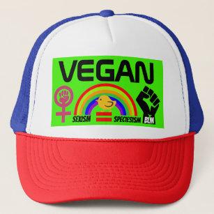 Vegan BLM Feminism LGBTQ Gay Women Civil Rights Trucker Hat 7875736a8