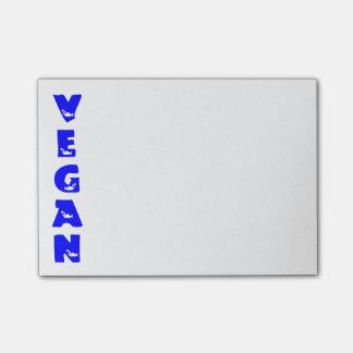 Vegan Blue Fish Post-it Notes