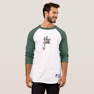 Vegan Bob Carrot Tattoo Machine T-Shirt