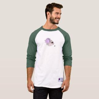 Vegan Bob Flying Vegan Pig Baseball Shirt