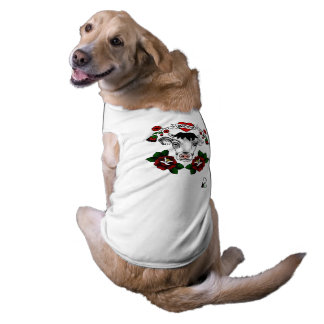 Vegan Bob Moo Cow Rose T Shirt