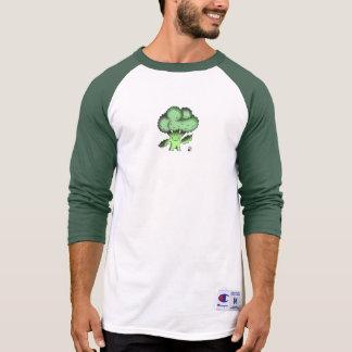 Vegan Bob Organic Broccoli Baseball Shirt