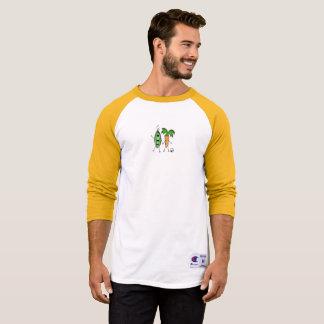 Vegan Bob Peas and Carrot Baseball Shirt