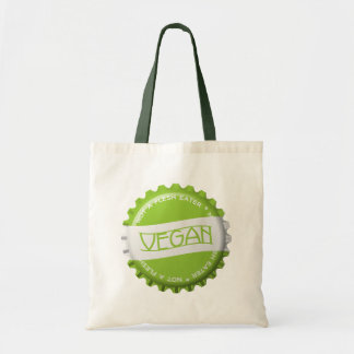 Vegan Bottlecap Tote Bag