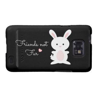 Vegan Bunny Friends Not Fur Samsung Galaxy S2 Cases