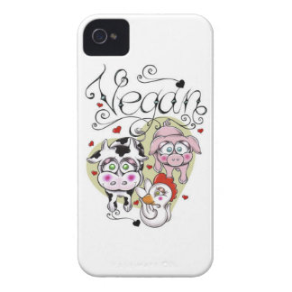 Vegan Case-Mate iPhone4 Barely There Univ. Case