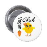Vegan Chick 2 6 Cm Round Badge