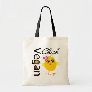 Vegan Chick Budget Tote Bag
