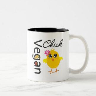 Vegan Chick Two-Tone Coffee Mug