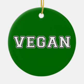 Vegan Christmas Ornament