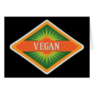 Vegan Colors Logo Greeting Card
