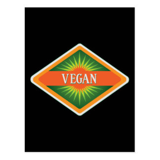 Vegan Colors Logo Postcard