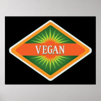 Vegan Colors Logo Poster