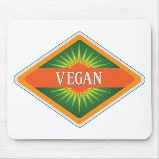 Vegan Colours Logo Mouse Pad